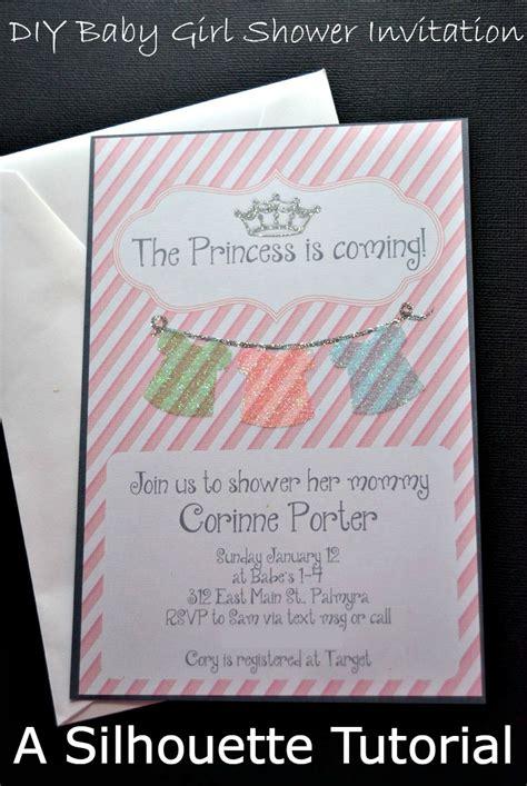 Diy Baby Shower Invites - diy baby shower invitations