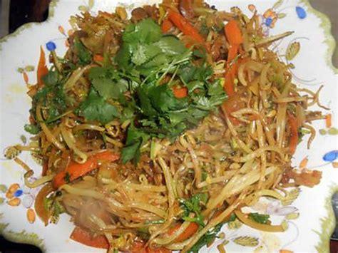 recette de pousses de soja sautées