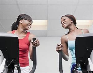 African American Women Hair And Working Out ...