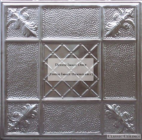 2x2 acoustic perforated tin ceiling design 523