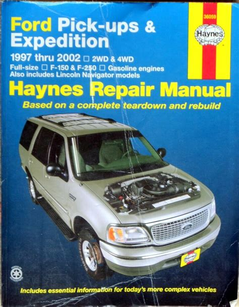 haynes ford pick ups expedition    repair