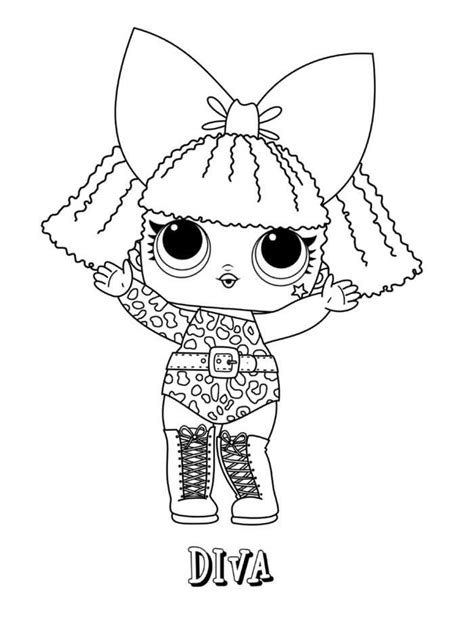 printable lol doll coloring pages  coloring sheets unicorn coloring pages lol dolls