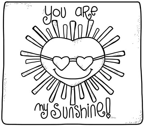 sunshine coloring pages  sketch coloring page