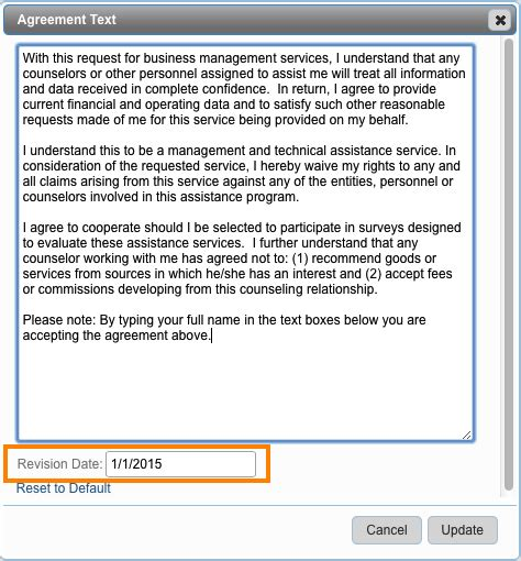 Faq #n236 How Can I Get My Clients Express Intent To Be A Client Of My Program?