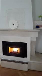 Remplacer Insert Bois Par Insert Granules : cheminee avec insert fonte flamme ~ Voncanada.com Idées de Décoration