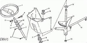Images About John Deere Stx38 Steering Parts Diagram