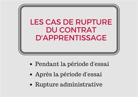 contrat d apprentissage cuisine rupture contrat d 39 apprentissage comment faire