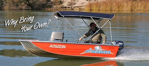 Fishing Boat Hire Mildura by You Can Hire Water Craft From The Mildura Marina All