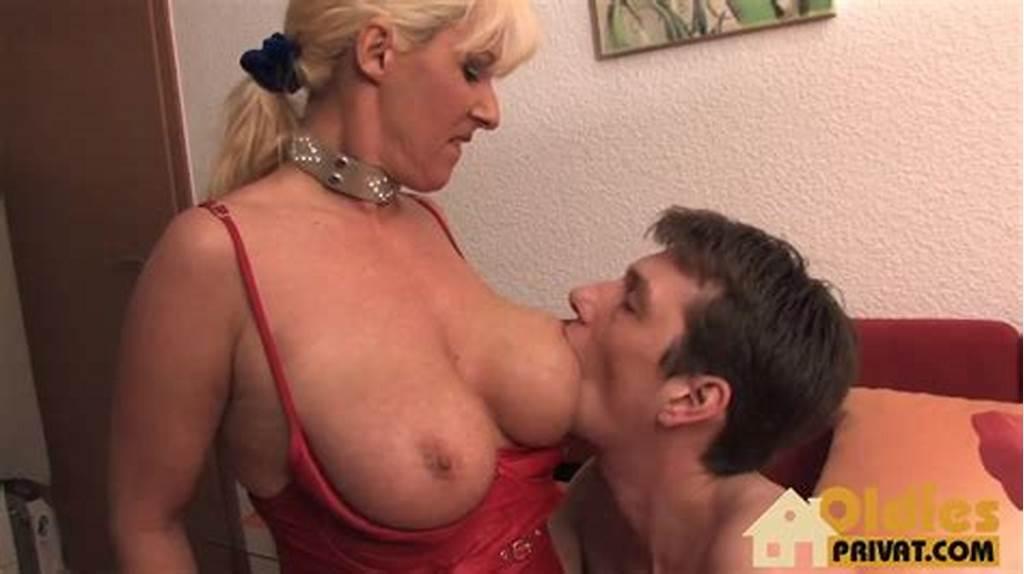 #Busty #German #Cougar #Rides #A #Young #Dick