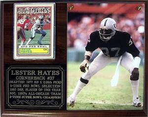 Lester Hayes #37 Oakland Raiders 2-Time Super Bowl ...