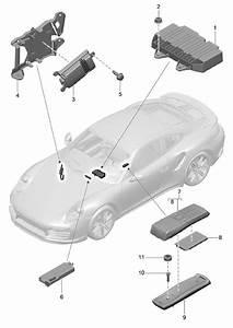 Porsche Panamera Booster  Amplifier  Wbose  Bose