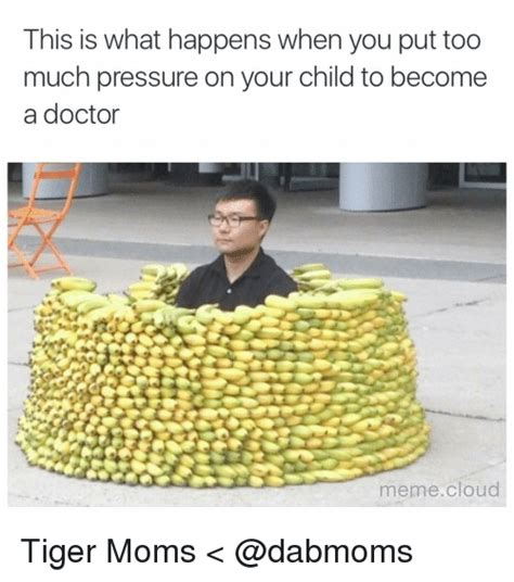 I Became A Cloud Meme - this is what happens when you put too much pressure on your child to become a doctor meme cloud