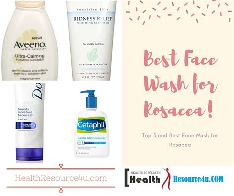 best for rosacea best wash for rosacea top 5 expert review and picks
