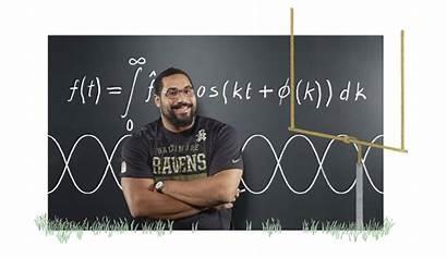 Football Mathematician Mit Player John Pro Heard