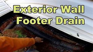 Do It Yourself Foundation Waterproofing  Exterior Wall