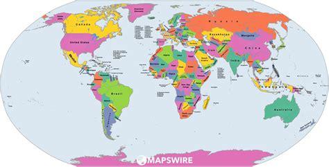 political maps   world mapswirecom