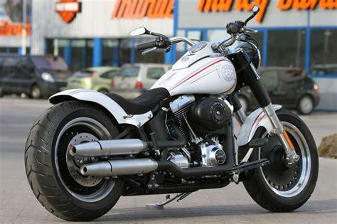 #harley-davidson Fat Boy With #thunderbike Rear Fender-kit