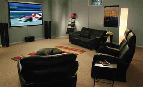 Home Entertainment Design Ideas by Basement Home Theater Design Ideas For Your Modern Home