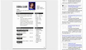 Blogger resume template for Blogger resume template