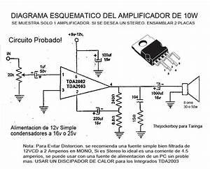 Amplificador De 10w Stereo