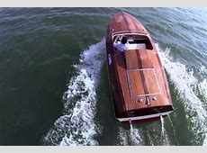 Boat with a BMW 507 engine Video