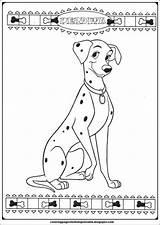 Coloring Pages Dalmatians 101 Perdita Printable Cartoon Adventure Another sketch template