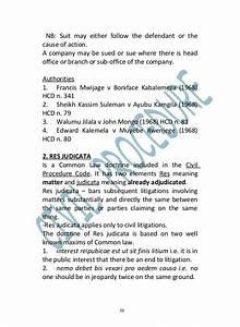 Civil Procedure Udsm Manual 2002
