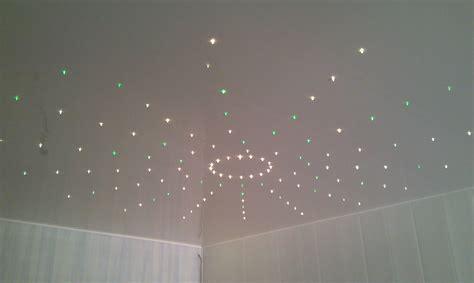 plafond chambre étoilé eclairage