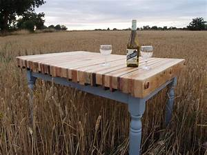 Reclaimed Pallet Wood Dining Table