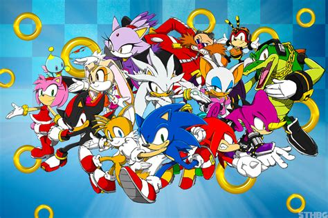 Sonic characters - sonic el erizo foto (38312067) - fanpop