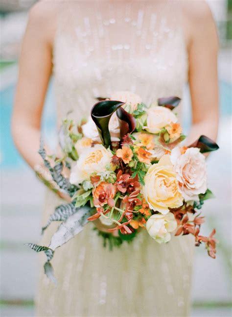 Soft Color Autumn Wedding Bouquet Fall Bouquet
