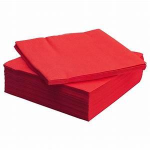 Porte Serviette En Papier : fantastisk serviettes en papier rouge 40 x 40 cm ikea ~ Teatrodelosmanantiales.com Idées de Décoration