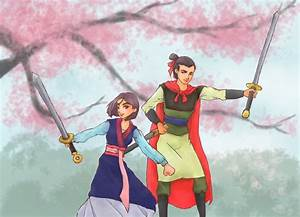 Mulan and Shang by security-blanket on DeviantArt