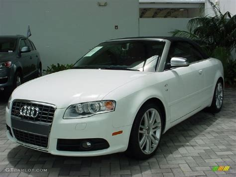 2007 Audi S4 Cabriolet Pictures Information And Specs