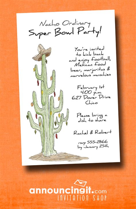 southwest super bowl party invitations announcingitcom
