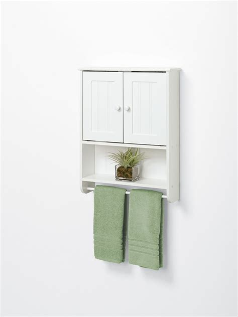 Bathroom Wall Cabinet With Towel Bar by 20 Best Wooden Bathroom Shelves Reviews