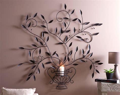 deco murale arbre metal decoration vie en bois metallique