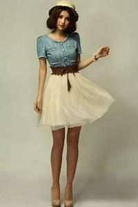 robe jeans pas cherfemme robe ete nouveau mince tee robe With robe en jean pas cher