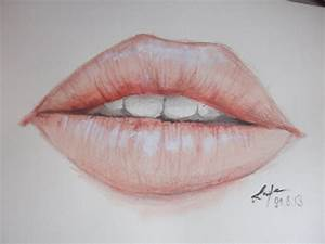 Realistic Lips Painting - Nessiiia [12 years old] - YouTube