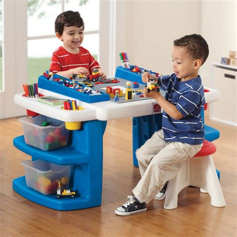 Step2 Master Activity Desk Walmart Canada by Activity Table With Storage Canada Decorative Table