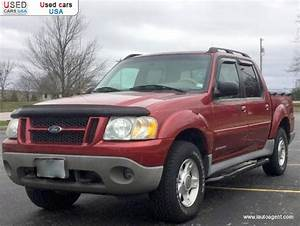 For Sale 2001 Passenger Car Ford Explorer Sport Trac 4x4