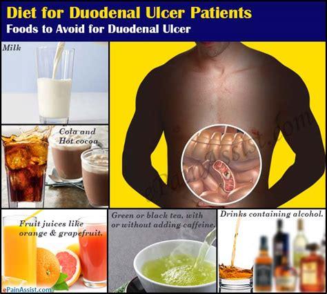 diet  duodenal ulcer patients