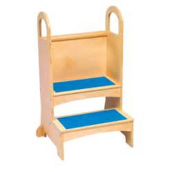 Toddler Steps For Sink by Guidecraft High Rise Kids Step Stool G97016