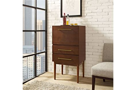 crosley newport expandable bar cabinet in vintage mahogany finish wine furniture crosley home bar crosley lafayette home bar wine