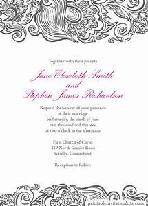 Wedding invitation wording wedding invitations borders for Wedding invitation page borders free download
