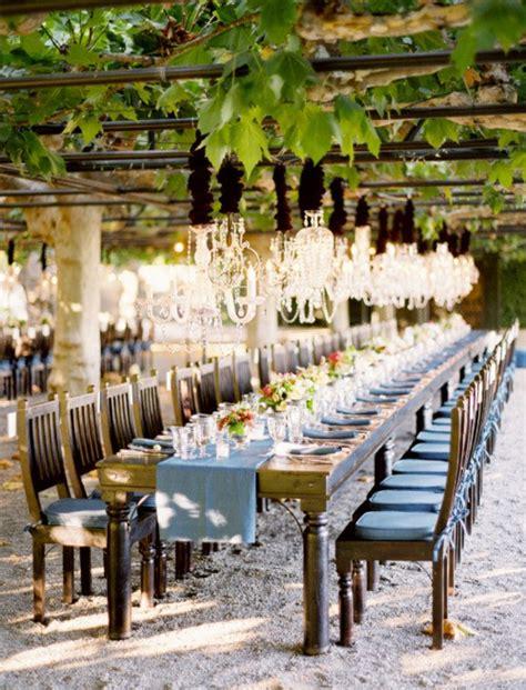 outdoor wedding reception decorations ideas