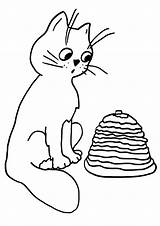 Pancake Coloring Pages sketch template