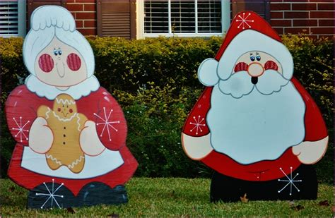 plywood christmas lawn decorations wwwindiepediaorg