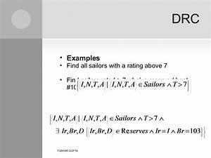 Presentation On Dbms Relational Calculus