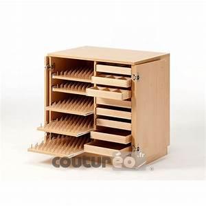meuble n 60 de rangement fils et accessoires de couture With meuble couture